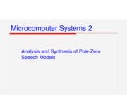 Ch4-Analysis_&_Synthesis_of_Pole-Zero_Speech_Models