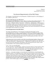 form-11_the-formal-requirements-of-the-phd-thesis-2014.doc