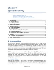 Chap 04 Special Relativity