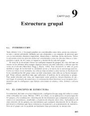 191 Pdf Capitulo 9 Estructura Grupal 9 1 Introduccion Todo