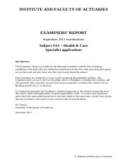IandF_SA1_201209_Examiners'_Report_FINAL