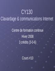 CY130 - Cours 10.ppt