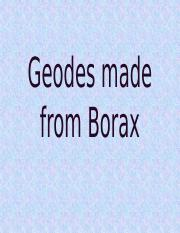 Geodes made from Borax.pptm