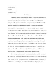 response to rape as a social problem essay leena bhamrah  3 pages teen culture essay