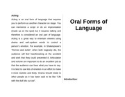 Forms of Language