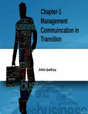 chapter 1- Management Commuincation in Transition.ppt