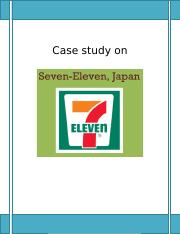Presentation Case Study Seven Eleven   Inventory   Supply Chain   pages Choko