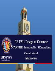 Lecture-I Introduction to Concrete Technology.ppt