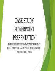 SW 830 Assignment #4 Case Study #2 Power Point Presentation.pptx
