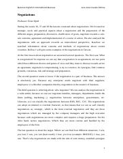 Negotiations paper 3