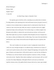 iron man research paper