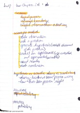 Chapter 1 Biology Notes