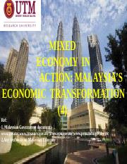 EA__L4_-_THE_MIXED__ECONOMY_IN_ACTION-_THE_MALAYSIAN_CASE_-IV-