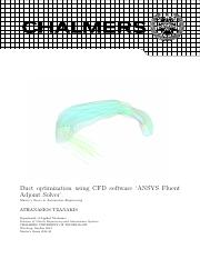 optimization in ansys fluent