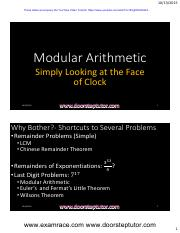 Modular-Arithmetic-Youtube-Lecture-Handouts