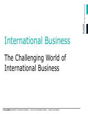 01. The Challenging World of International Business.pdf