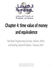 time value and equivalence