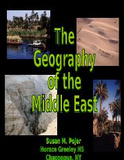 MiddleEast-geography