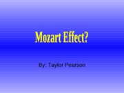 musical effect ppt