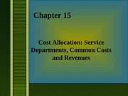 ch15 cost accounting allocations