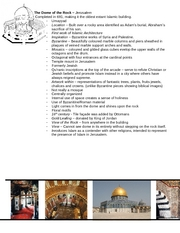 Midterm - Dome of the Rock