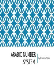 Arabic number system.pptx