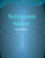The Environmental Movement.pptx