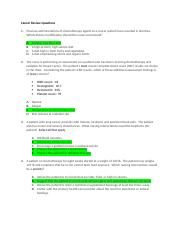 Cancer Review Questions with answers(1).docx