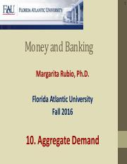 10. Aggregate Demand(1)