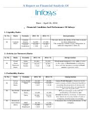 A Report on Financial Analysis of Infosys_Modified_Ravi.docx