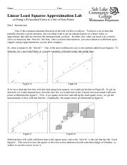 linear least squares approximation lab.pdf