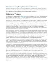 Introduction to Literary Theory.docx