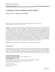A typology of mixed methods research designs.pdf