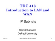 TDC413-2-subnets