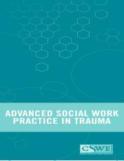 CSWE social work guidelines trauma