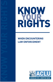 Know your rights - Questioning
