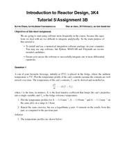 Chem Eng 3K04-2013-Tutorial-week-5-solutions