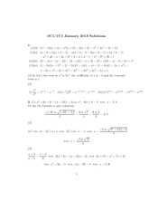 MATH 0C1 Spring 2013 Final Exam Solutions