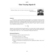LAB_8 - Time Varying 2