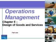 operation management chapter 5