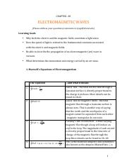 PHYS-201 CHAPTER-30-T NOTES
