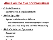 Africa on the Eve of Colonialism (Blackboard 3)2
