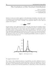 History of the Normal Distribution.pdf