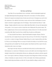 Osowiecki HIST3353 Peer Review Essay revised
