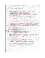 HSMG 3240 Notes 1
