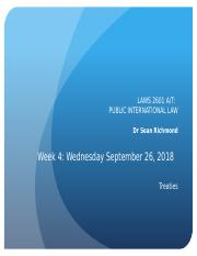 PIL Week 4 - Treaties - Slides - Wed Sept 26, 2018 (1).pptx
