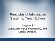 Principles of Information Systems chapter 03