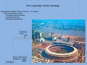 16 Corporate Center Strategy