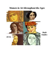 Women in Art throughout the Ages cover