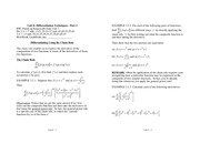 Applied Calculus unit8notes